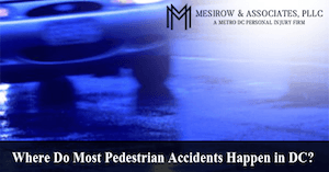 Pedestrian Accidents in DC